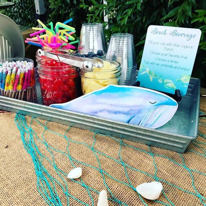 Kara's Party Ideas Splashing Under The Sea Birthday Pool