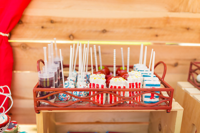 Circus sweets from a Circus Birthday Party on Kara's Party Ideas | KarasPartyIdeas.com (17)