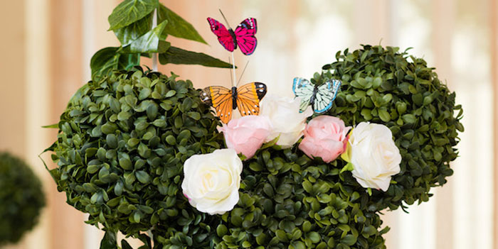 Minnie Mouse Inspired Butterfly Garden Party on Kara's Party Ideas | KarasPartyIdeas.com (1)