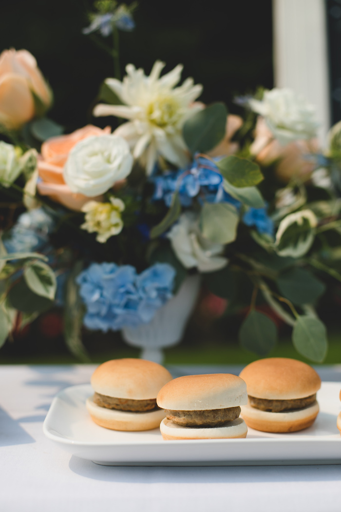 "Sliders from a ""Dumb & Dumber"" Inspired ""Cute & Cuter"" Twins Birthday Party on Kara's Party Ideas 