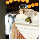 """Love is Sweet"" Baby Shower Dessert Bar on Kara's Party Ideas | KarasPartyIdeas.com (3)"