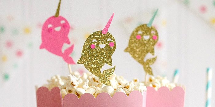 """Party Like a Narwhal"" Birthday Party on Kara's Party Ideas 