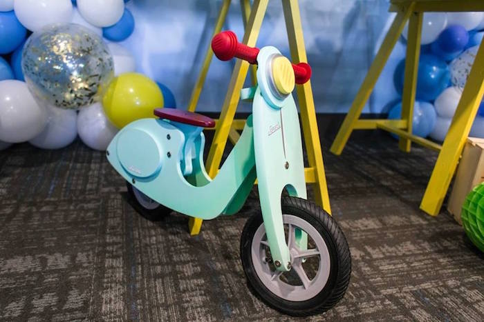 Scooter from a You are the Sprinkles on my Ice Cream Birthday Party on Kara's Party Ideas | KarasPartyIdeas.com (23)