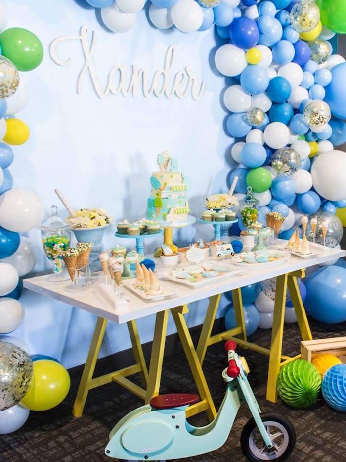 You are the Sprinkles on my Ice Cream Birthday Party on Kara's Party Ideas | KarasPartyIdeas.com (19)
