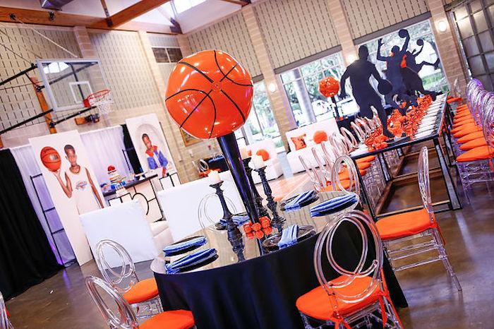 Basketball Thunder Birthday Party on Kara's Party Ideas | KarasPartyIdeas.com (10)