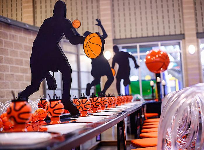 Basketball Thunder Birthday Party on Kara's Party Ideas | KarasPartyIdeas.com (24)