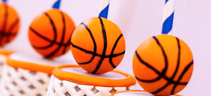 Basketball Thunder Birthday Party on Kara's Party Ideas | KarasPartyIdeas.com (2)