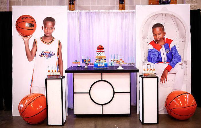 Basketball Thunder Birthday Party on Kara's Party Ideas | KarasPartyIdeas.com (23)