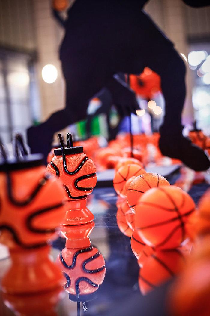 Basketball Thunder Birthday Party on Kara's Party Ideas | KarasPartyIdeas.com (19)