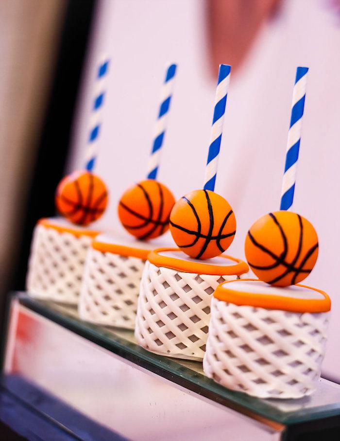 Basketball Thunder Birthday Party on Kara's Party Ideas | KarasPartyIdeas.com (17)