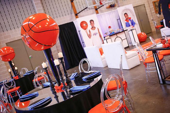 Basketball Thunder Birthday Party on Kara's Party Ideas | KarasPartyIdeas.com (16)