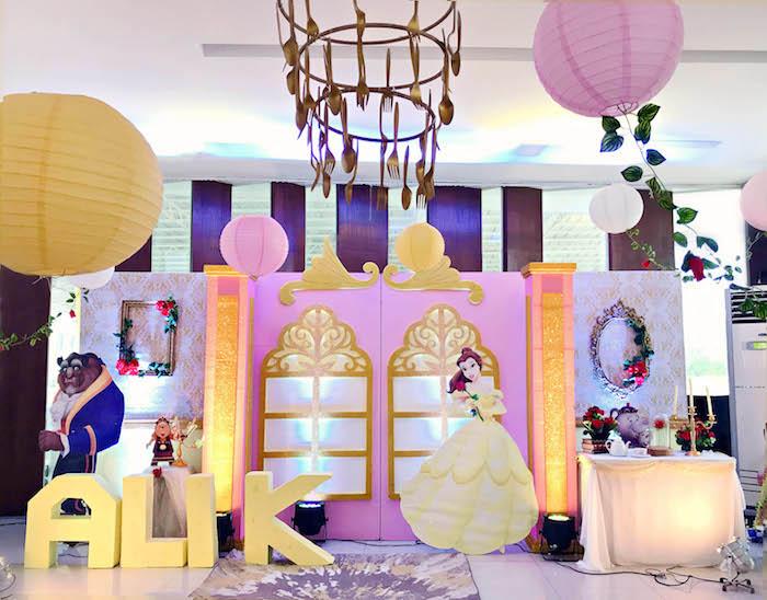 Kara S Party Ideas Beauty And The Beast Birthday Party