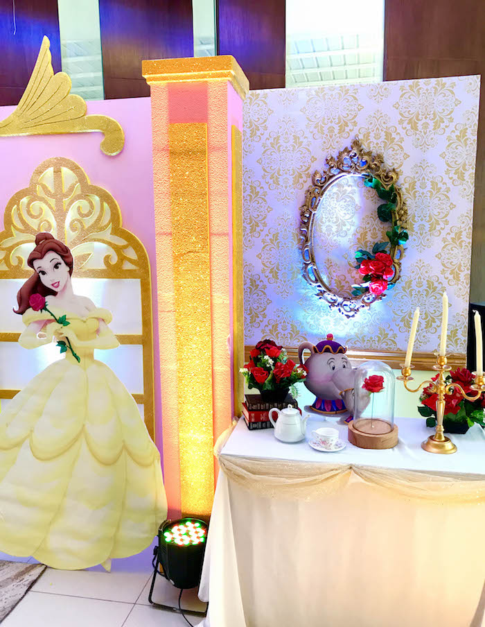 Beauty and the Beast Birthday Party on Kara's Party Ideas | KarasPartyIdeas.com (14)
