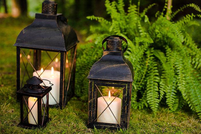 Lanterns from a Boho Midsummer Nights Soiree on Kara's Party Ideas | KarasPartyIdeas.com (21)