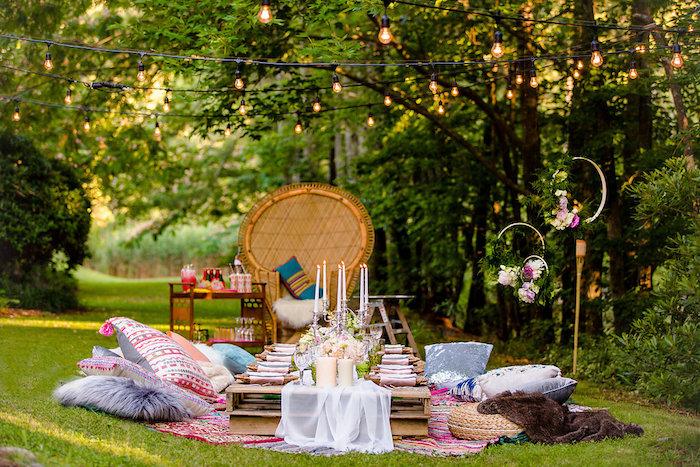 Boho Midsummer Nights Soiree on Kara's Party Ideas | KarasPartyIdeas.com (34)