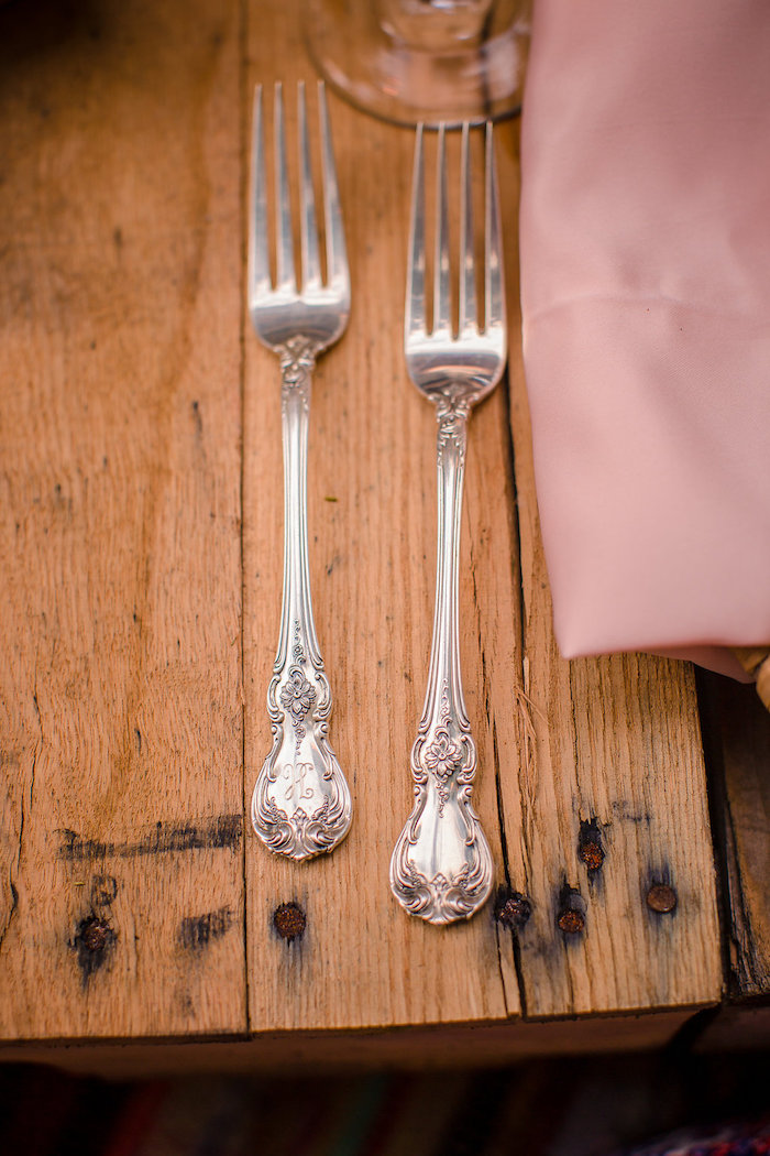 Flatware from a Boho Midsummer Nights Soiree on Kara's Party Ideas | KarasPartyIdeas.com (7)