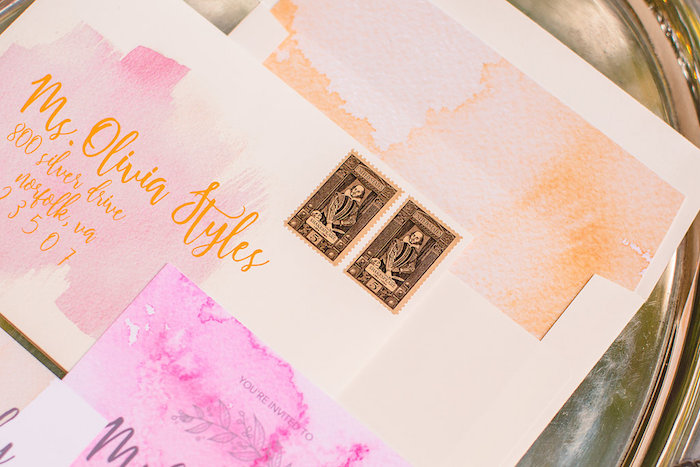William Shakespeare invite postage from a Boho Midsummer Nights Soiree on Kara's Party Ideas | KarasPartyIdeas.com (31)