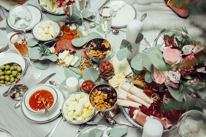Guest tabletop from a Boho Picnic Birthday Party on Kara's Party Ideas | KarasPartyIdeas.com (18)