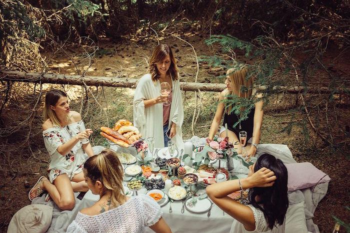 Boho Picnic Birthday Party on Kara's Party Ideas | KarasPartyIdeas.com (13)