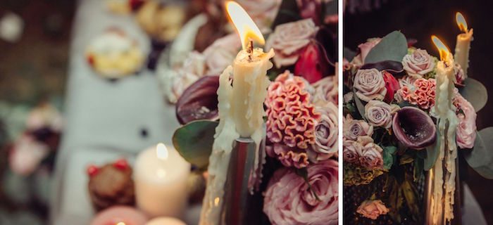 Candles from a Boho Picnic Birthday Party on Kara's Party Ideas | KarasPartyIdeas.com (24)