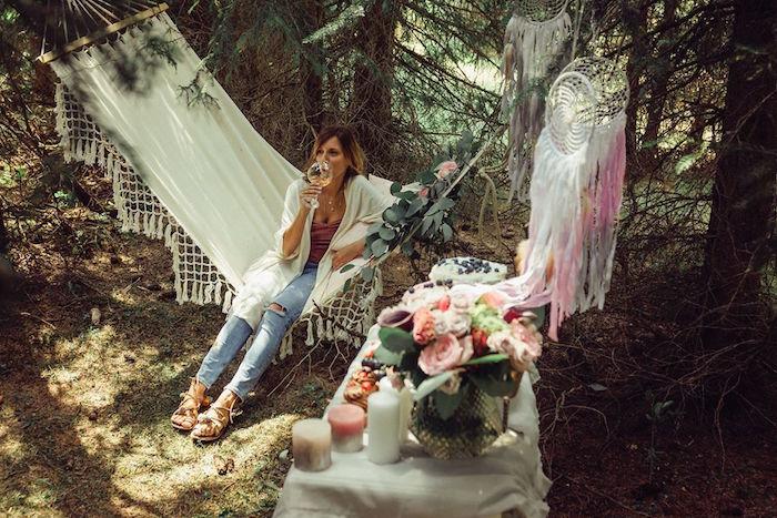 Boho Picnic Birthday Party on Kara's Party Ideas | KarasPartyIdeas.com (23)