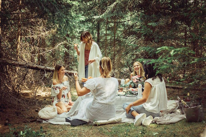 Boho Picnic Birthday Party on Kara's Party Ideas | KarasPartyIdeas.com (20)