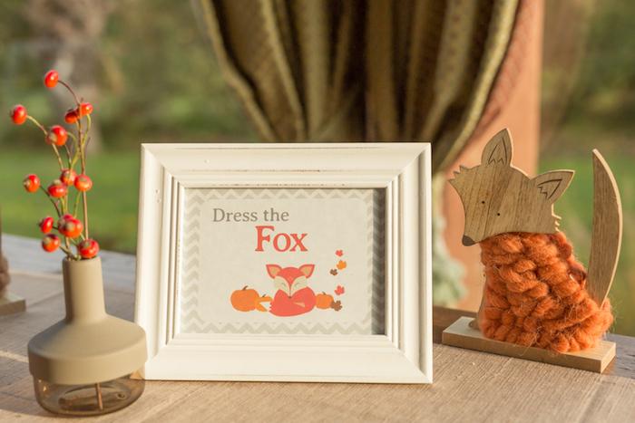 Fall Fox Baby Shower on Kara's Party Ideas | KarasPartyIdeas.com (16)