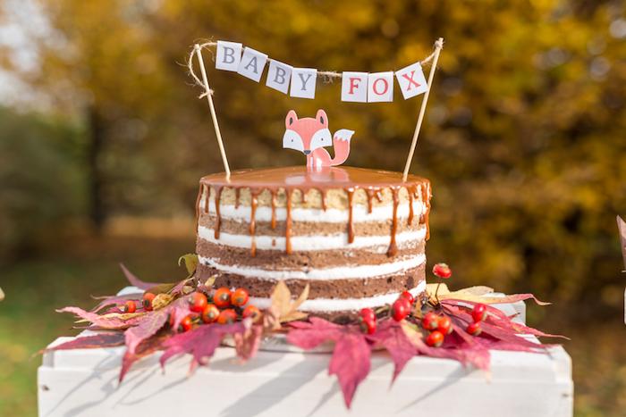 Fall Fox Baby Shower on Kara's Party Ideas | KarasPartyIdeas.com (43)