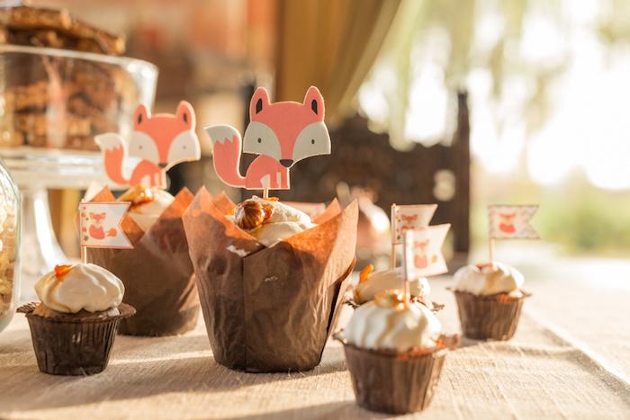 Fall Fox Baby Shower on Kara's Party Ideas | KarasPartyIdeas.com (8)
