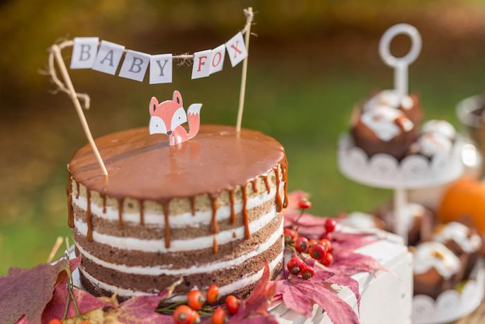 Fall Fox Baby Shower on Kara's Party Ideas | KarasPartyIdeas.com (40)
