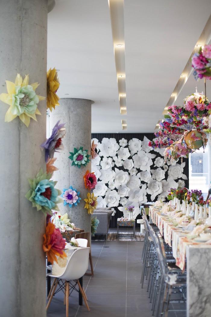 Garden Tea Party Bridal Shower on Kara's Party Ideas | KarasPartyIdeas.com (22)