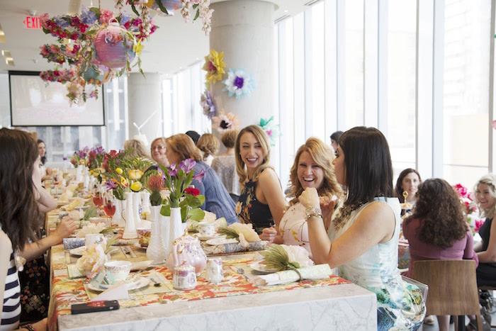 Garden Tea Party Bridal Shower on Kara's Party Ideas | KarasPartyIdeas.com (5)