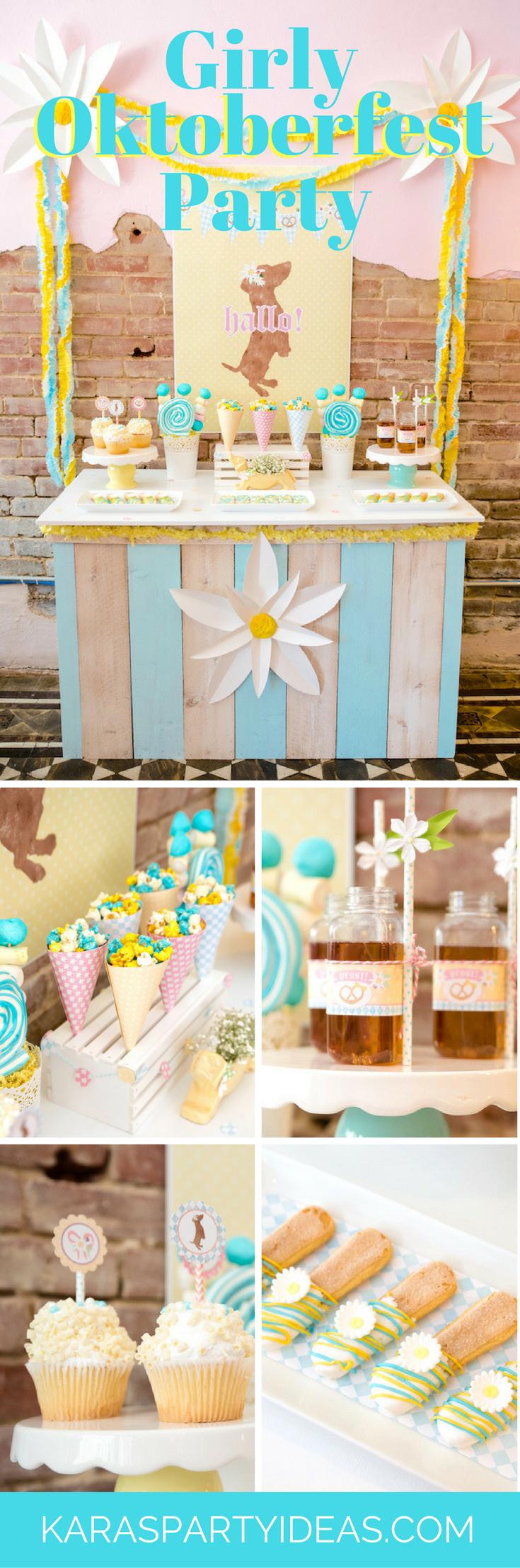 Girly Oktoberfest Party - Karas Party Ideas via KarasPartyIdeas.com