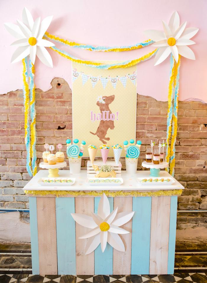 Girly Oktoberfest Party on Kara's Party Ideas | KarasPartyIdeas.com (27)