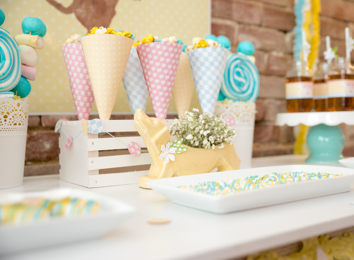 Sweet table detail from a Girly Oktoberfest Party on Kara's Party Ideas | KarasPartyIdeas.com (25)