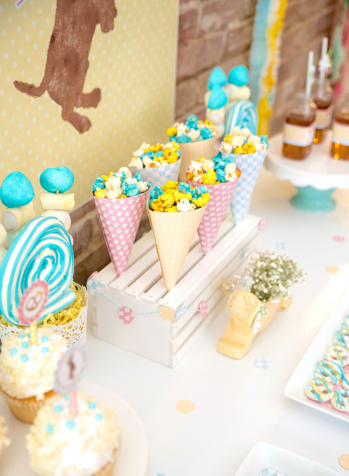 Sweet table detail from a Girly Oktoberfest Party on Kara's Party Ideas | KarasPartyIdeas.com (21)