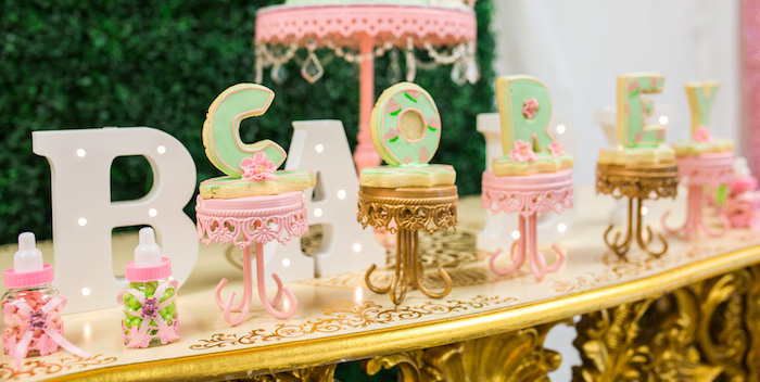 Glamorous Garden Baby Shower on Kara's Party Ideas | KarasPartyIdeas.com (4)