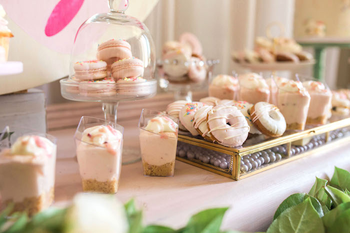 Sweets from a Hello Kitty Inspired Donut Party on Kara's Party Ideas | KarasPartyIdeas.com (7)