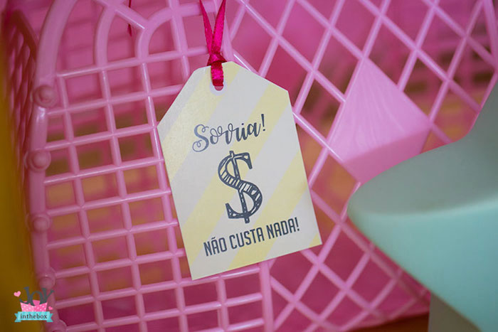 Price tag signage from a Little Shop Birthday Party on Kara's Party Ideas | KarasPartyIdeas.com (19)