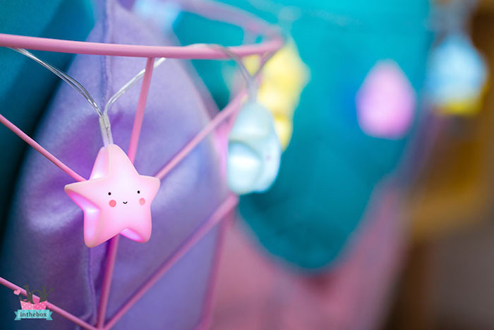Star light strand from a Little Shop Birthday Party on Kara's Party Ideas | KarasPartyIdeas.com (18)