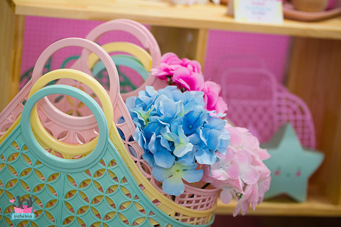 Baskets from a Little Shop Birthday Party on Kara's Party Ideas | KarasPartyIdeas.com (17)