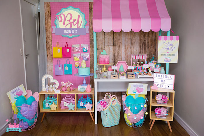 Little Shop Birthday Party on Kara's Party Ideas | KarasPartyIdeas.com (11)