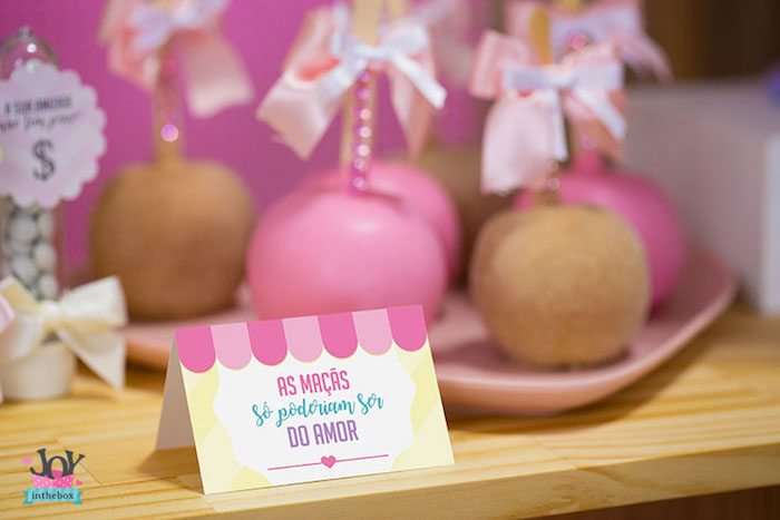 Sweet label from a Little Shop Birthday Party on Kara's Party Ideas | KarasPartyIdeas.com (7)