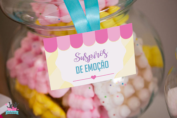 Label from a Little Shop Birthday Party on Kara's Party Ideas | KarasPartyIdeas.com (4)