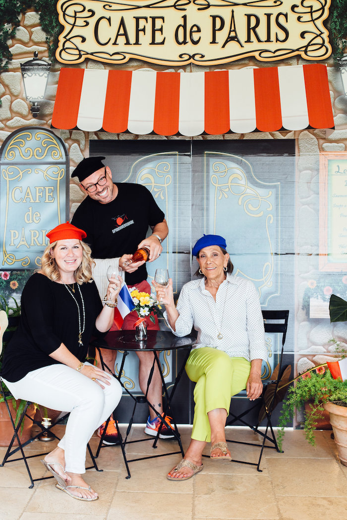 Cafe de Paris from a Madeline in Paris Birthday Party on Kara's Party Ideas | KarasPartyIdeas.com (19)