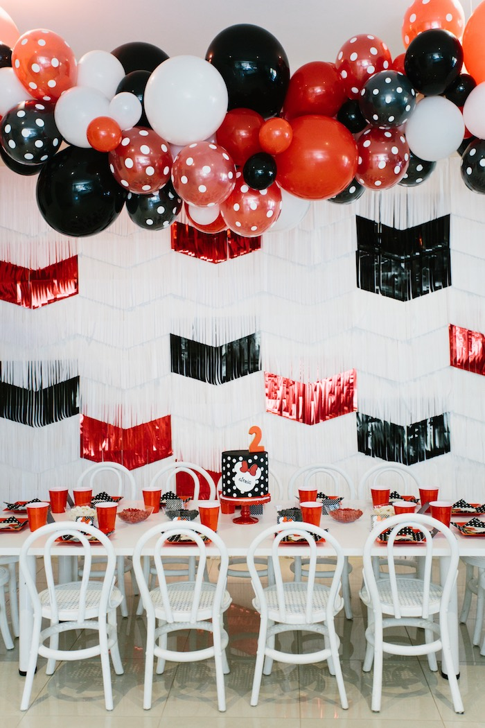 Minnie Mouse Birthday Party on Kara's Party Ideas | KarasPartyIdeas.com (8)