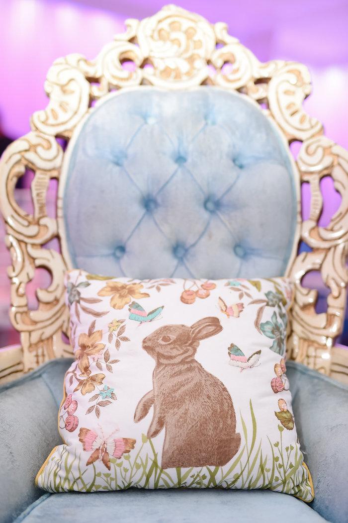 Throne from a Modern Alice in Wonderland Birthday Party on Kara's Party Ideas | KarasPartyIdeas.com (29)