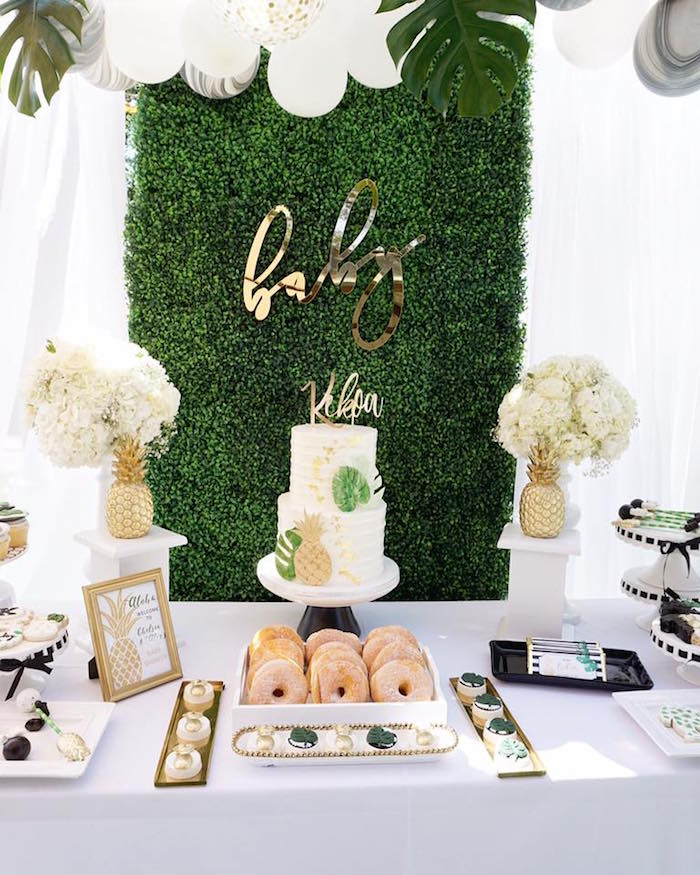 Elegant Baby Showers Decorations Ideas