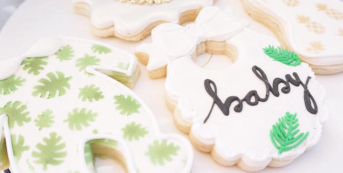 Modern Hawaiian Baby Shower on Kara's Party Ideas | KarasPartyIdeas.com (1)