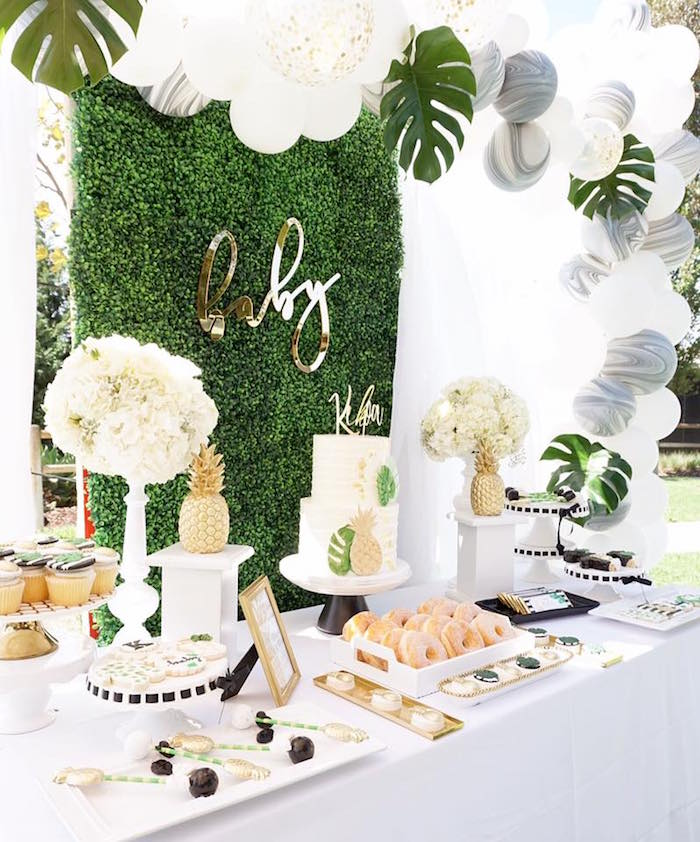 Cake Table Ideas Baby Shower